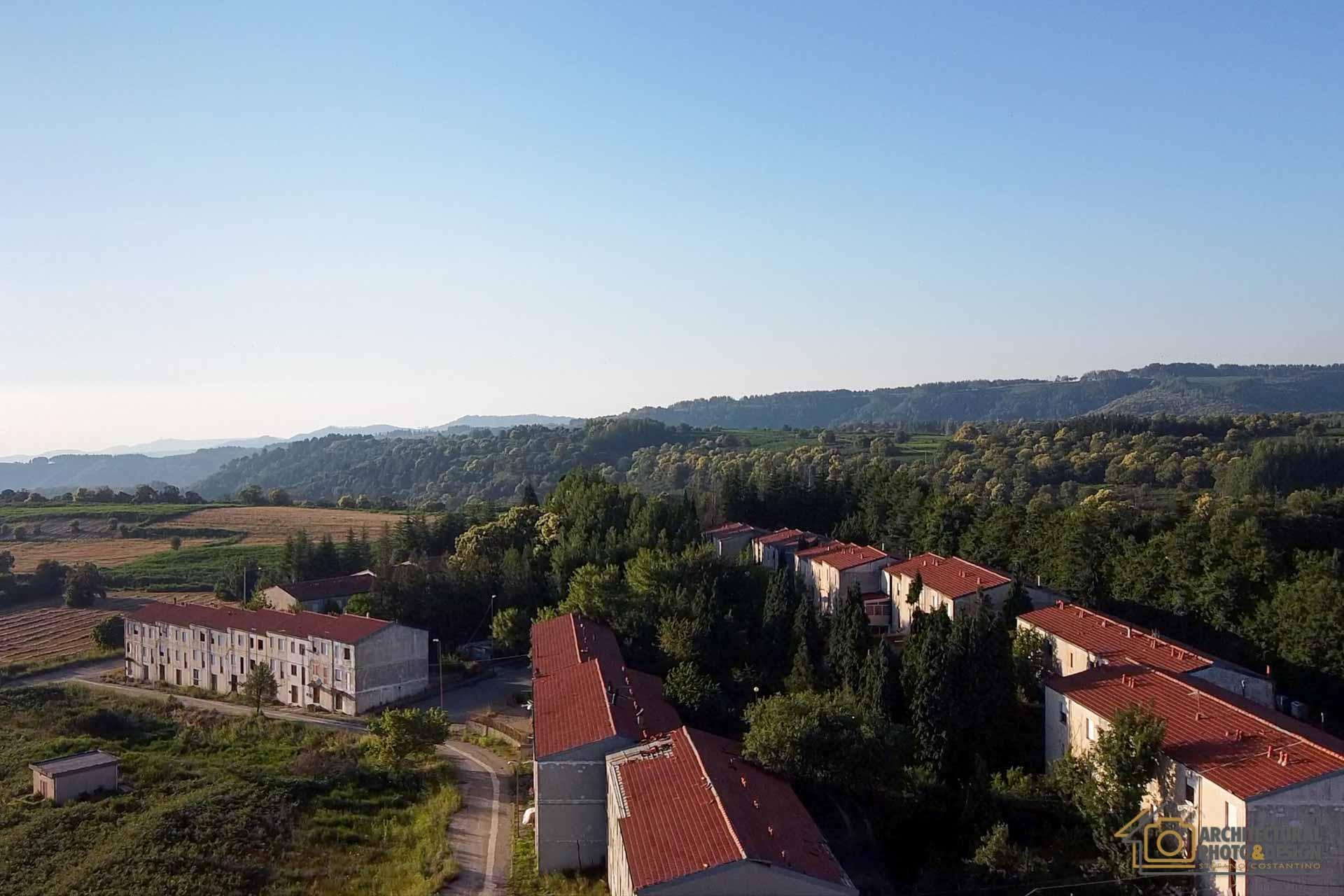 Vista dall'alto con Drone